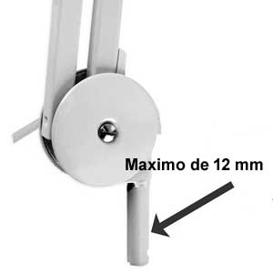 lampara base para pared